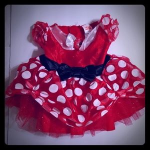 Minnie Mouse costume dress 12-18 months